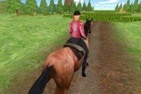 pferde springen frei