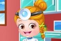 Baby Hazel als Zahnarzt