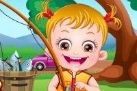 Baby Hazel Fischen