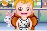 Baby Hazel Tischmanieren