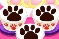 Brownie mit Bärentatzen