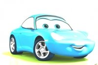 Cars 2 Malvorlage Sally