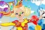 Zirkus-Mädchen ankleiden