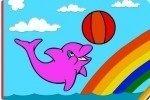 Delphin ausmalen