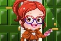 Detektiv Baby Hazel ankleiden
