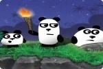 Drei Pandabären