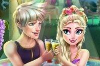 Elsa im Whirlpool