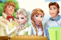 Elsa und Anna Picknick
