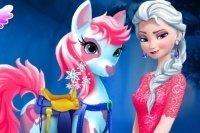 Elsa Pony versorgen