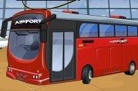 Flughafenbus parken
