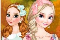 Frozen Schwestern Herbst Mode