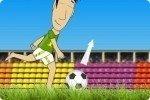 Fußball schießen