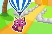 Haustier am Ballon