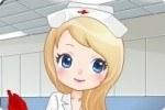 Hilfsbereite Krankenschwester