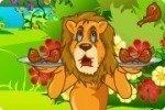 Hungriger Löwe