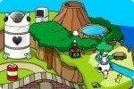 Insel bebauen