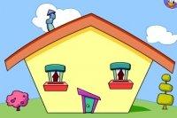 Katrina baut ein Haus