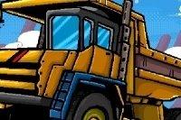 Lastwagen Parcours