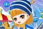 Mädchen im Schnee 2
