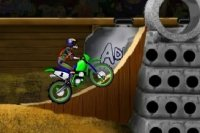 Motorcross Stunt Race