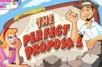Perfekter Hochzeitsantrag