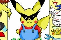 Pikachu Ankleiden