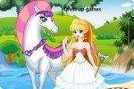 Prinzessin mit Pferd