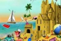 Sandspielsachen suchen