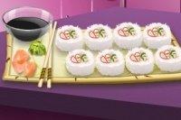 Sara's Kochschule Sushi