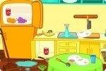 Schmutzige Küche