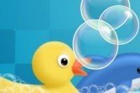 Seifenblasen zerplatzen