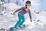 Snowboard Mädchen 2