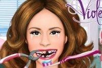 Violetta beim Zahnarzt