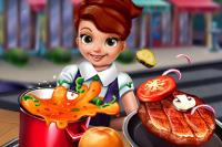 Hotdogs und Hamburger kochen