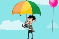 Mr. Bean Freifall