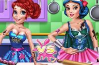 Prinzessinnen Kochgefecht